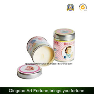 Printed Tin Candle with Travel Lid for Promotion Home pictures & photos