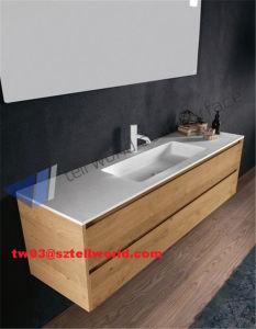 One Piece Bathroom Sink and Countertop, Ceramic Wash Basin, Bathroom Sink pictures & photos
