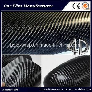 4D Carbon Fiber Vinyl Rolls Car Sticker, Car Vinyl pictures & photos