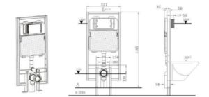 Concealed Cistern for Wall-Hung Toilet (X880131) pictures & photos