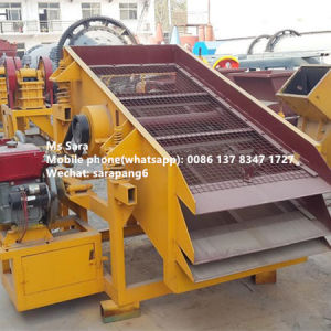 Vibrating Screen Driving by Diesel Engine pictures & photos