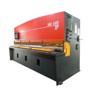 Hydraulic Guillotine Sheet Metal Cutting Shearing Machine pictures & photos