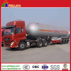 Liquid Gas Tanker LPG Storage Truck Semi Trailer Gas Tank pictures & photos