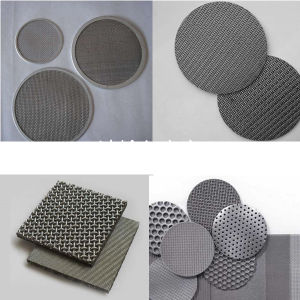 Multi-Layer Round Sintered Filter Disc pictures & photos