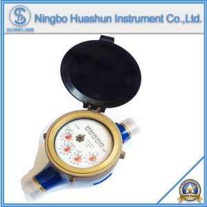 Class C Volumetric Dry Type Brass Water Meter pictures & photos