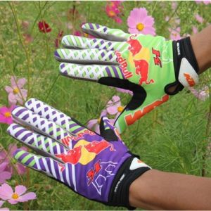 Blue&Purple Quality Comfortable Motorcycle Cycling Sport Glove (MAG60) pictures & photos