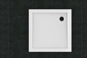 High Quality Square 80X80 SMC Bathroom Shower Tray pictures & photos