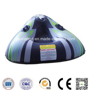 Inflatable Triangle Snow Tube and Inflatable Toy