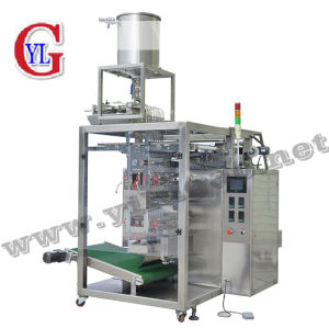 Ketchup Shampoo Toamto Paste Sauce 10 Lines 4-Sides Sealing Liquid Packing Machine pictures & photos