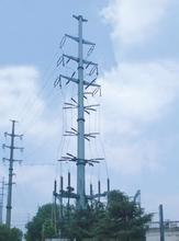 110kv Steel Transmission Tubular Tower pictures & photos