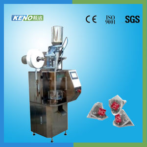 Full Automatic Nylon Triangle Tea Bag Packaging Machine (KENO-TB300) pictures & photos
