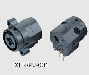 6pin to 11pin XLR Cannon Combo Connector/Socket (XLR/PJ-001T) pictures & photos