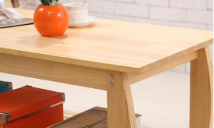 Solid Pine Wood Table Modern Living Room Fashion Table (M-X2039) pictures & photos