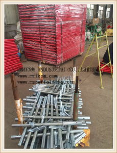 Galvanized Scaffolding Solid Screw Jack/Base Jack /Shoring Jack Base pictures & photos