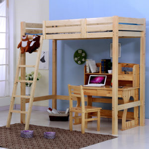 Single Beds Double Beds Wooden Beds Children Elevated Beds (M-X1080) pictures & photos