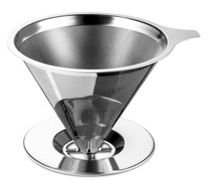 Javapresse Pour Over Coffee Maker with Stand Clever Hand Drip Brewer with Reusable Filter Dripper pictures & photos