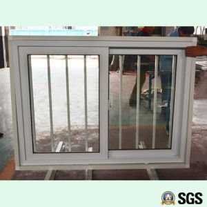 UPVC Sliding Window with Stainless Steel Buglar Net, UPVC Window, PVC Window, Window K02085 pictures & photos