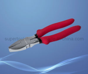 PVC Handle Chrome Plated Wire Plier (510114) pictures & photos