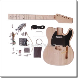 Telecaster Style Unfinished DIY Electric Guitar (EGT10-W3) pictures & photos