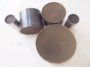 Honeycomb Metal Monolith Substrate Catalytic Converter Substrate for Auto pictures & photos
