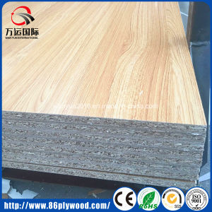 Hardwood Fiber Melamine Laminated Chipboard/Particle Board pictures & photos
