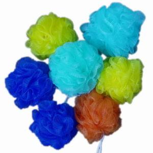 Colourful PE Mesh Sponge Body Shower Ball (JMC-175G) pictures & photos