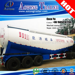 V Shape 2/3axles Low Density Powder Material Bulk Tanker Trailers pictures & photos