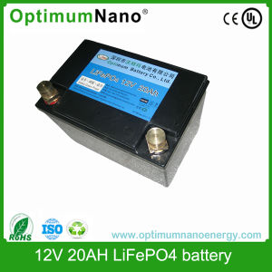 12V 20ah LiFePO4 Rechargeable Battery Pack pictures & photos