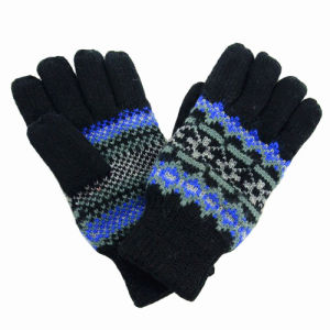 Lady Fashion Wool Gloves (JYG-25242) pictures & photos