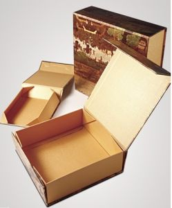 Printed Folding Tea Packaging Box pictures & photos