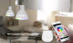 WiFi Remote Controller LED GU10 RGB+CCT Bulb pictures & photos