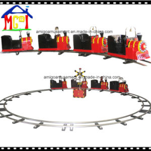 Amusement Park Train with Stainless Steel Railway and Fence pictures & photos
