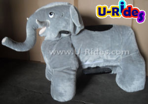 Elephant walking animal ride big size for parents and kids together pictures & photos
