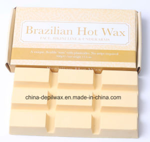 High Quality Chocolate Hard Wax for Body Hair Removal pictures & photos