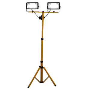 Quality New 2*20W LED Flood Light with Stand pictures & photos