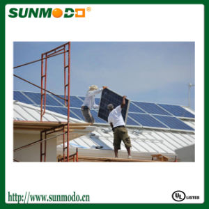 5kw PV Solar Metal Roof Mounting System pictures & photos