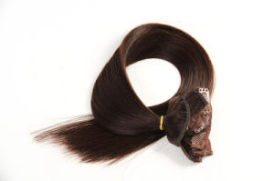 Brazilian Human Hair Unprocessed Virgin Clip in Hair pictures & photos