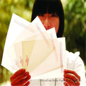 Moistureproof and Tear Resistant Synthetic Paper Stone Paper Rock Paper pictures & photos