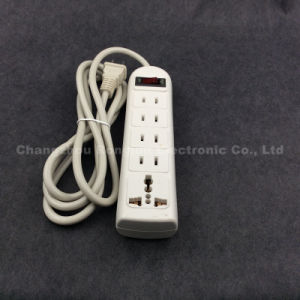 4 Line Flat Pin Socket and Multi Plug Extension Sockets (SO-006) pictures & photos