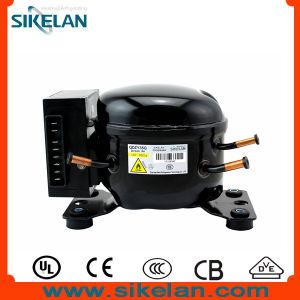 Good Quality R600A DC Compressor 12V/24V Refrigerator Compressor Freezer/Fridge Compressor Solar/Battery Compressor Qdzy35g pictures & photos