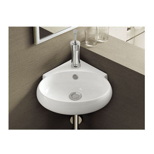 Watermark Certification Wall Hung Basin Sink pictures & photos