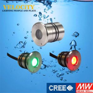 1W Ce Approved Remote Control Underwater Lamp RGB LED Outdoor Light pictures & photos