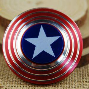 Metal Aluminium Zinc Alloy American Hand Toys Cube Fidget Spinner pictures & photos