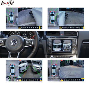 Rear View & 360 Panorama Interface for Volkswagen Passat Golf7 Seat for Skoda etc with Mib System Lvds RGB Signal Input Cast Screen pictures & photos
