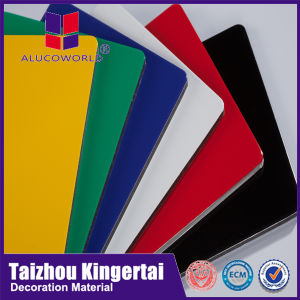 Alucoworld Aluminum Composite Ceiling Panel Production Line with 4mm 3mm 5mm Thick pictures & photos