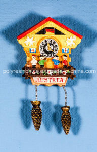 Polyresin Cuckoo Clock of Kuckucksuh with Fridge Magnet pictures & photos