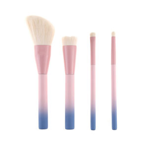 Blush Brush Set Essential 4PCS Make up Kit with Kabuki Eyeshadow Foundation Powder Brushes pictures & photos