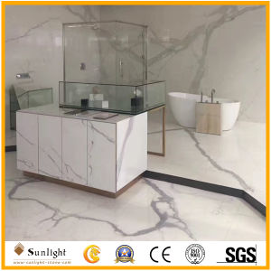 Polished Italian Calacatte White Marble Tiles for Floor, Wall, Countertops pictures & photos