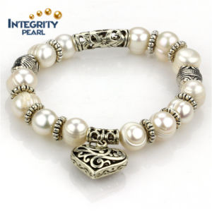 Fashion Pearl Bracelet 9mm a Potato Natural Women Pearl Bracelets
