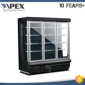 Multideck  Display  Chiller with Sliding Glass Door pictures & photos